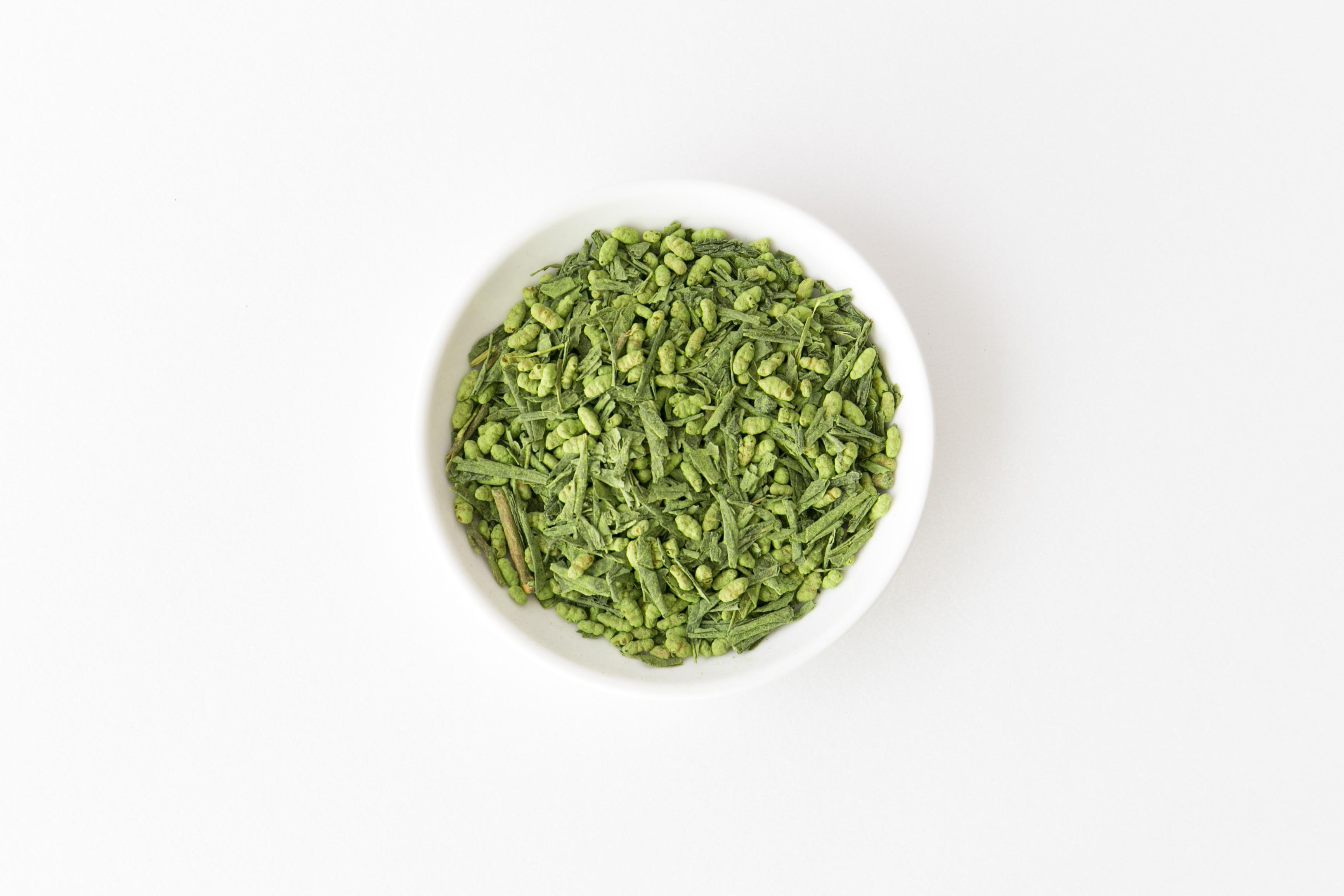 有機抹茶入り玄米茶 商品イメージ2