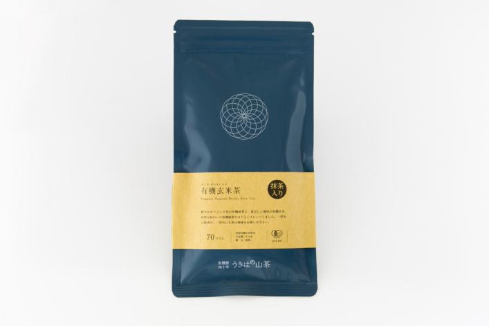 有機抹茶入り玄米茶 商品イメージ1