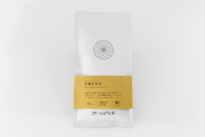 有機玄米茶 商品イメージ1