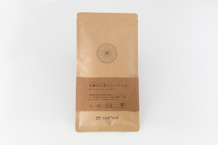 有機焙じ茶ティーバッグ 25包 商品イメージ1
