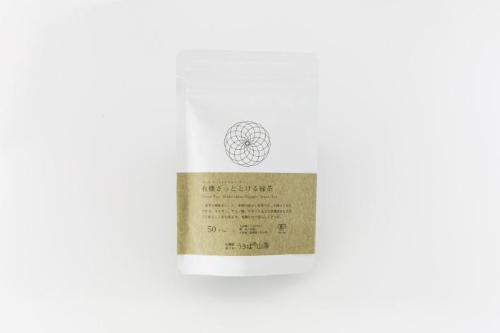 有機さっととける緑茶 商品イメージ1