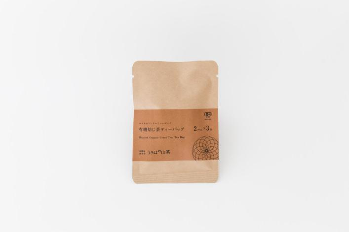 有機焙じ茶ティーバッグ 3包 商品イメージ1