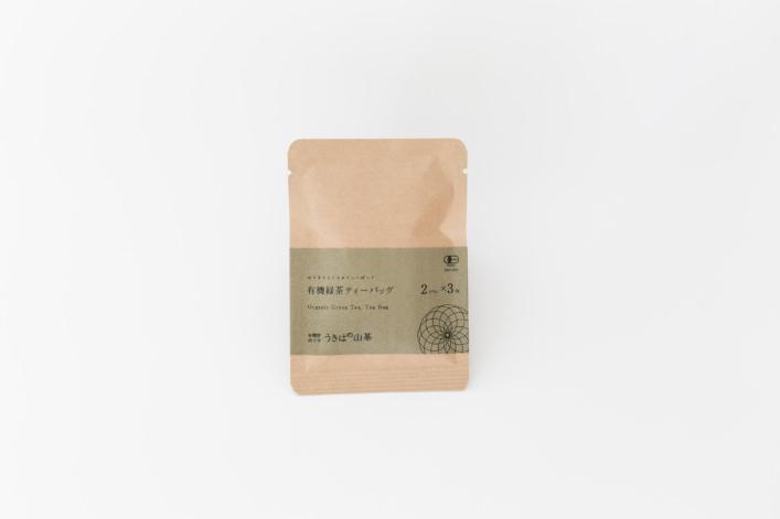 有機緑茶ティーバッグ 3包 商品イメージ1