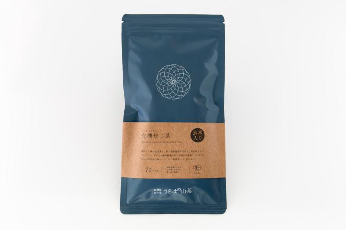 有機玄米入り焙じ茶 商品イメージ1