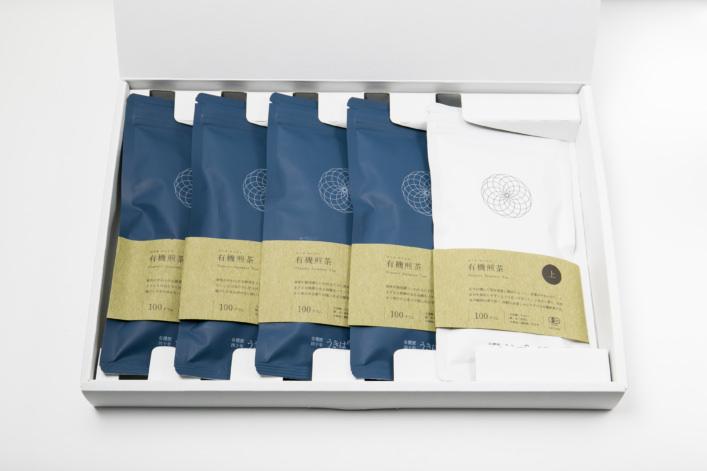 うきはの山茶 5本入り平箱 G-001 商品イメージ1