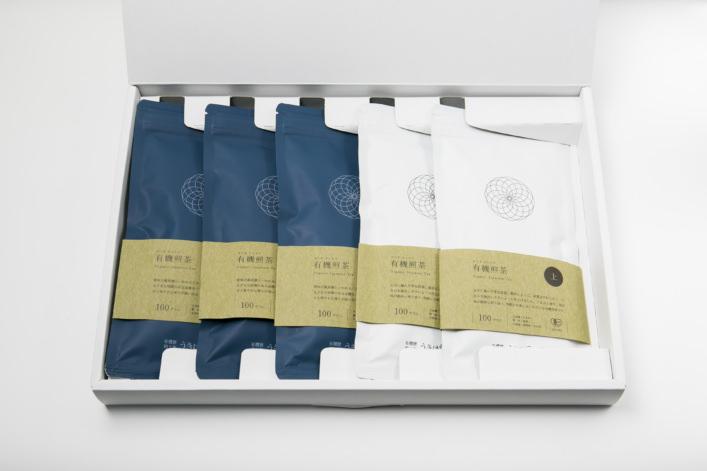 うきはの山茶 5本入 平箱 G-002 商品イメージ1