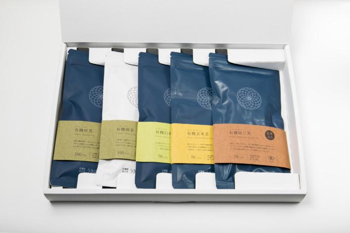 うきはの山茶 5本入 平箱 G-004 商品イメージ1