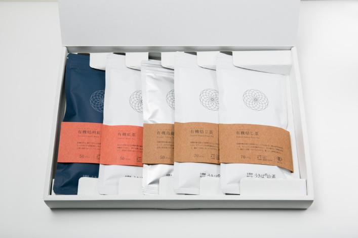 うきはの山茶 5本入 平箱 G-007 商品イメージ1