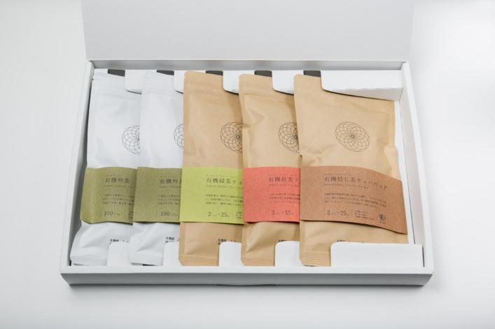 うきはの山茶 5本入 平箱 G-006 商品イメージ1