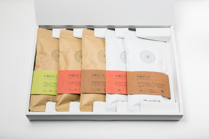 うきはの山茶 5本入 平箱 G-008 商品イメージ1