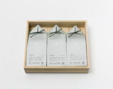 うきはの山茶 3本入 桐箱 GFT3-1