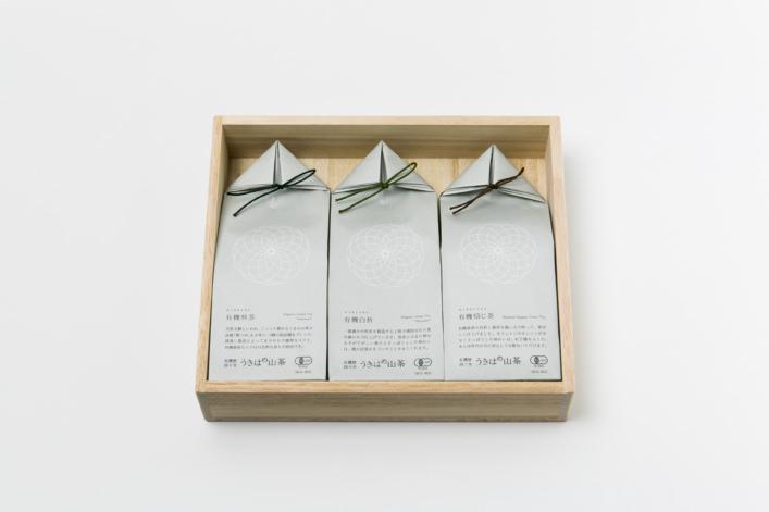 うきはの山茶 3本入 桐箱 GFT3-1 商品イメージ1