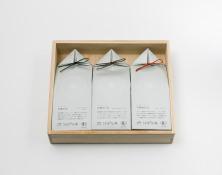 うきはの山茶 3本入 桐箱 GFT3-2