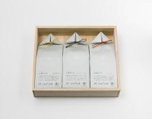 うきはの山茶 3本入 桐箱 GFT3-3