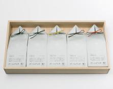 うきはの山茶 5本入 桐箱 GFT5-1