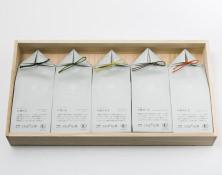 うきはの山茶 5本入 桐箱 GFT5-2