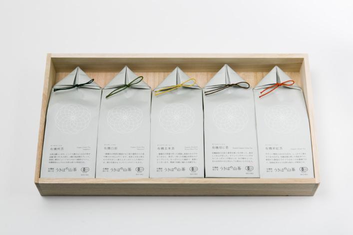 うきはの山茶 5本入 桐箱 GFT5-2 商品イメージ1