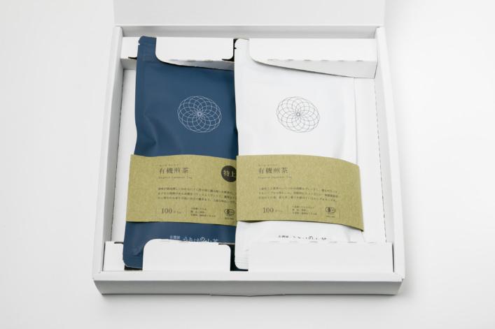 うきはの山茶 2本入 平箱 N-005 商品イメージ1