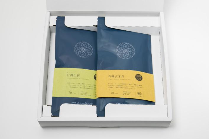 うきはの山茶 2本入 平箱 N-009 商品イメージ1