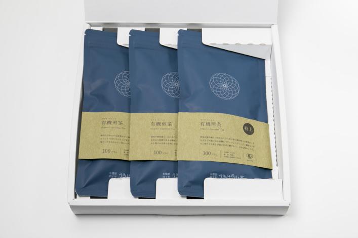 うきはの山茶 3本入 平箱 S-001 商品イメージ1