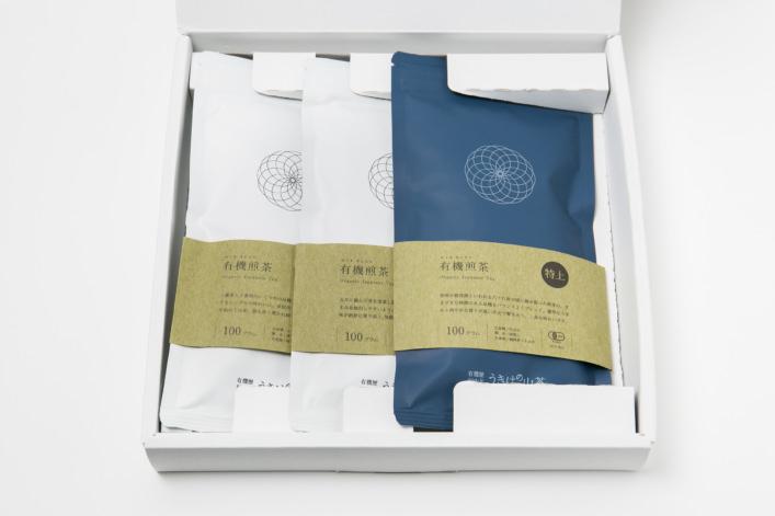 うきはの山茶 3本入 平箱 S-003 商品イメージ1